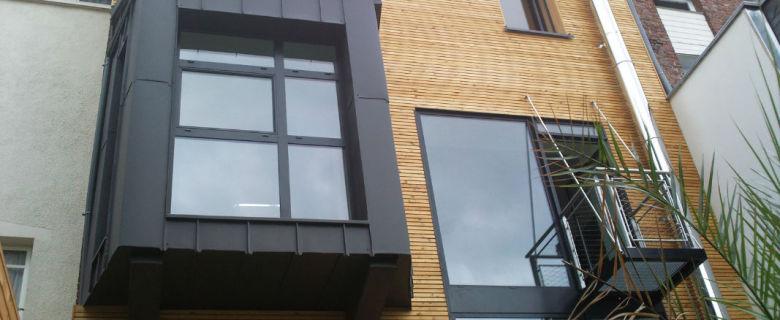 Habillage d'une façade