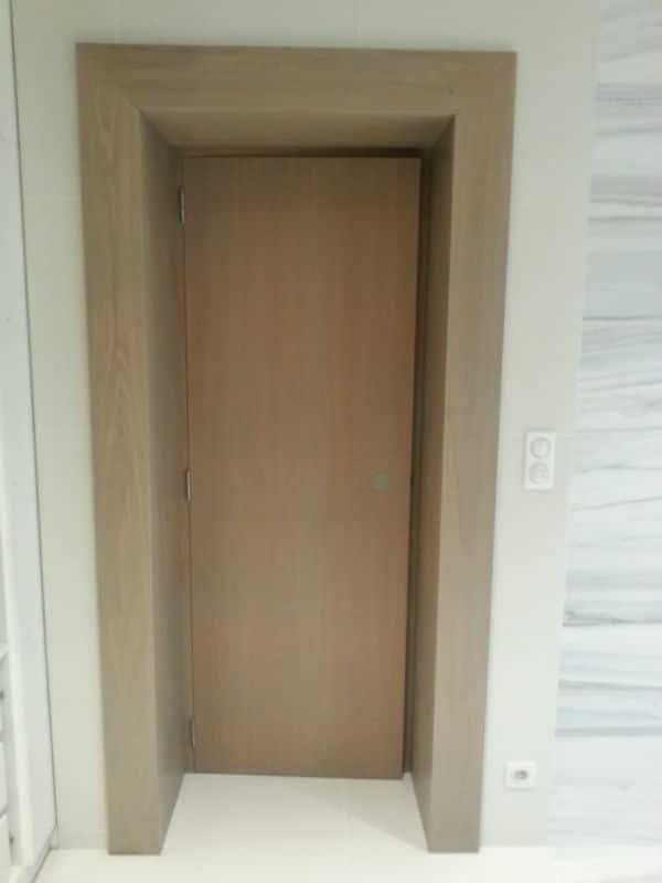 R alisation d 39 une salle de bain lemoine dazy - Fabrication d un dressing ...