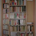 Bibliothèque en Hêtre verni